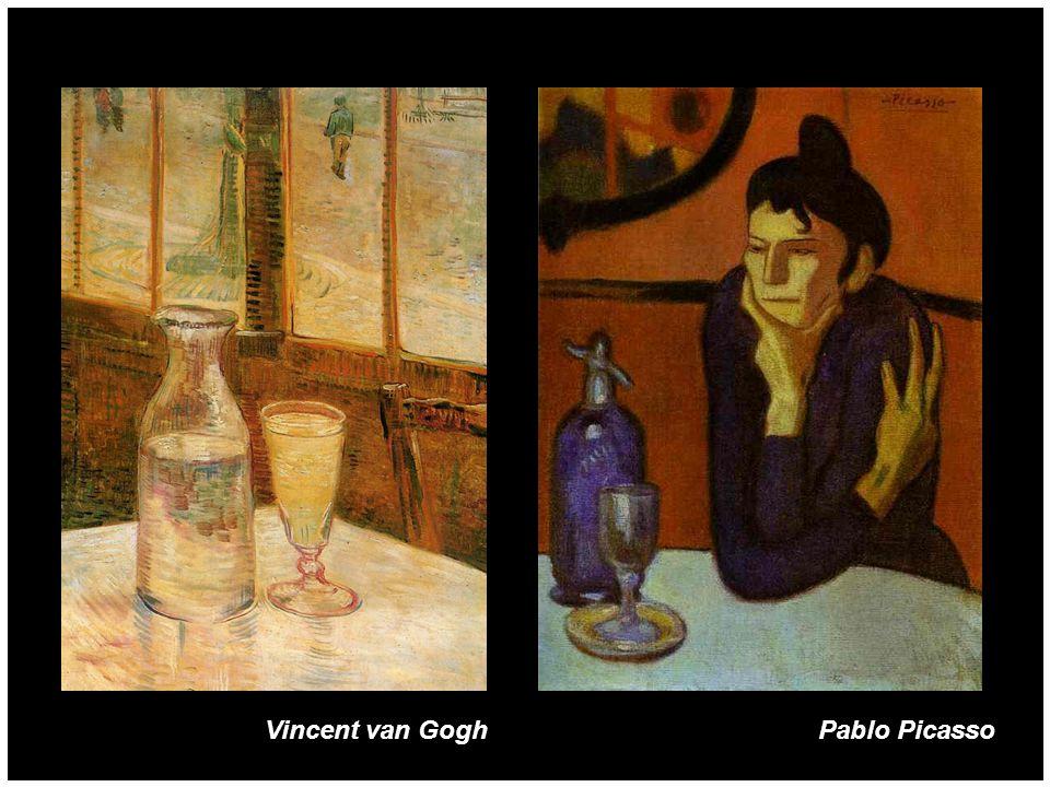 Pablo PicassoVincent van Gogh