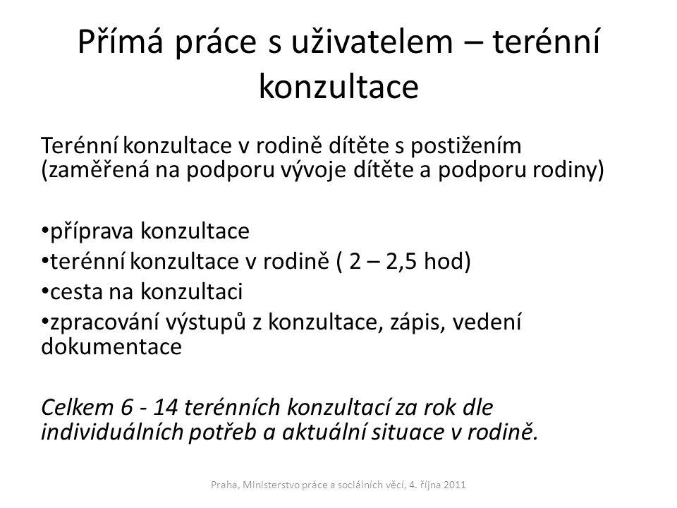 Finanční zdroje neinvestičních nákladů MPSV Kraje Obce Nadace Sponzoři Praha, Ministerstvo práce a sociálních věcí, 4.