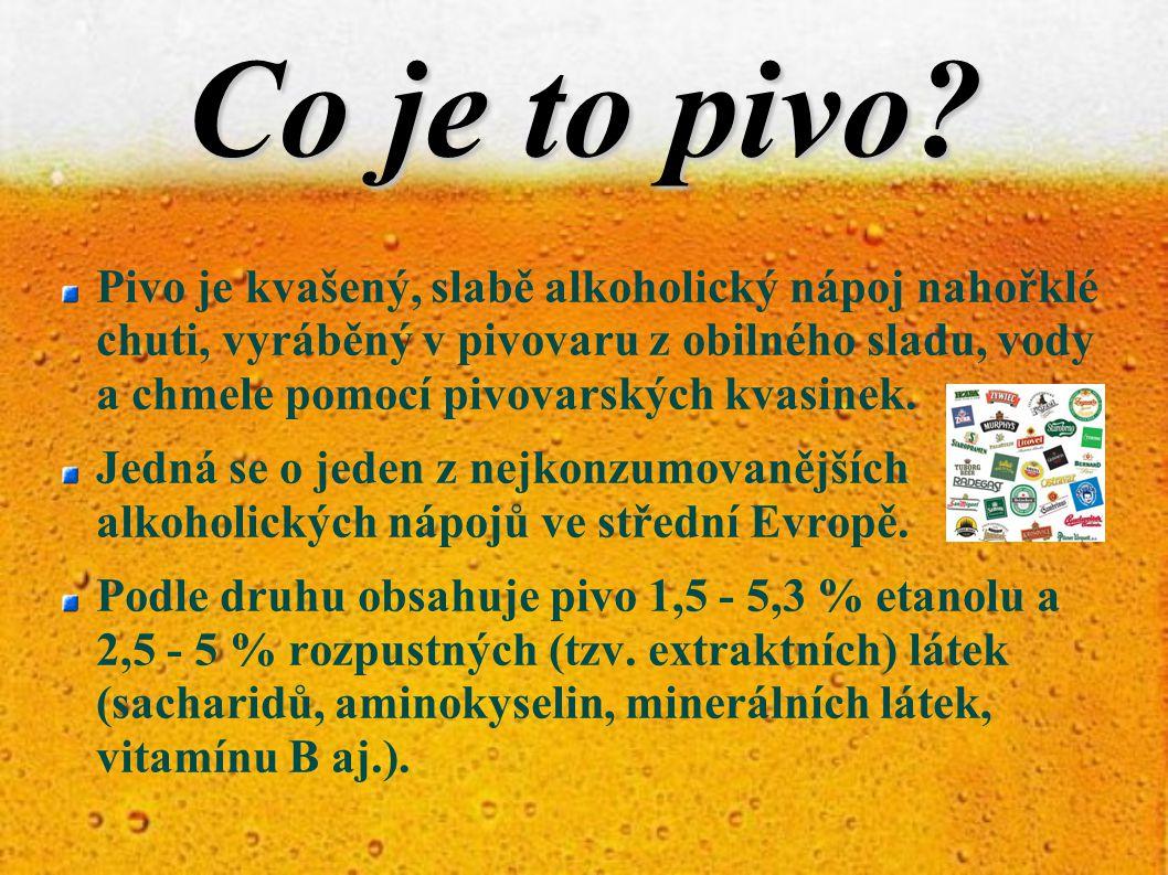 Značení piva Je nutno podle vyhlášky č.335/1997 Sb.