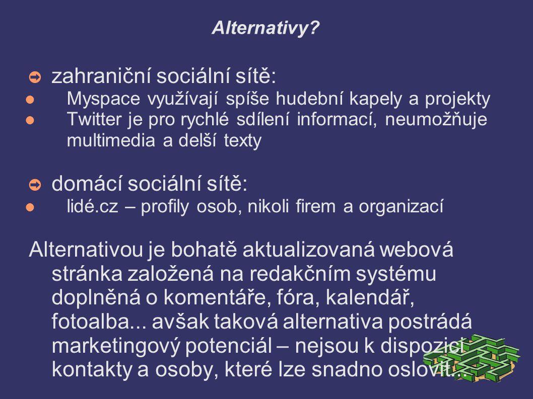 Alternativy.