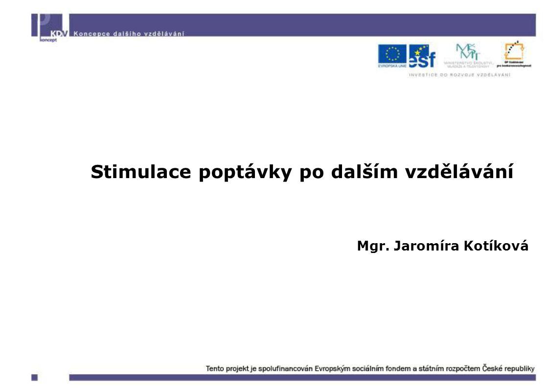 Vzdělávací poukázky Fungování nástroje, v podobě příspěvků na vzdělávání zaměstnanců poskytovaných, na základě stanovených kritérií, vymezené skupině zaměstnavatelů formou poukázek, již bylo úspěšně pilotně odzkoušeno v malých a středních podnicích ve třech krajích ČR v rámci realizovaného projektu ROZAM.