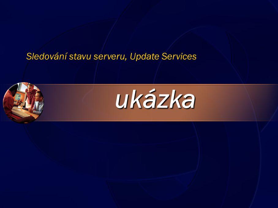 ukázka Sledování stavu serveru, Update Services