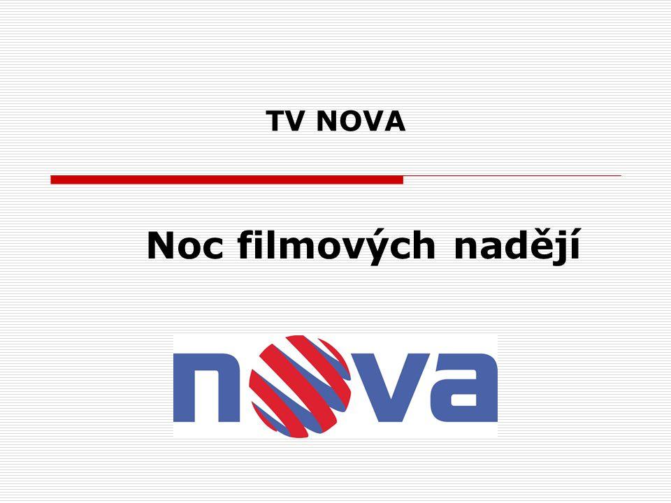 TV NOVA Noc filmových nadějí