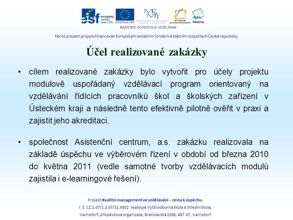 Vzdělávací program – primární úkol cíl a obsah vzdělávacího programu je přímo provázán s filozofií celého realizovaného projektu – tzn.