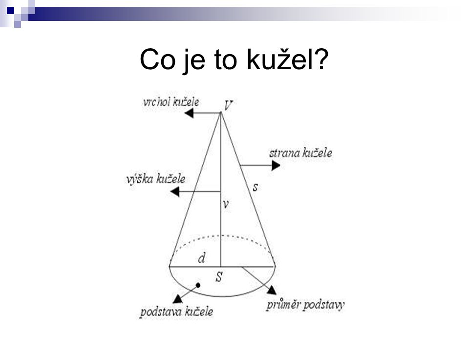 Co je to kužel?