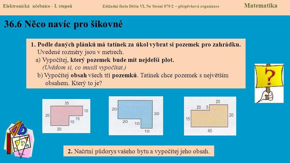 36.7 Surface area Elektronická učebnice - I.