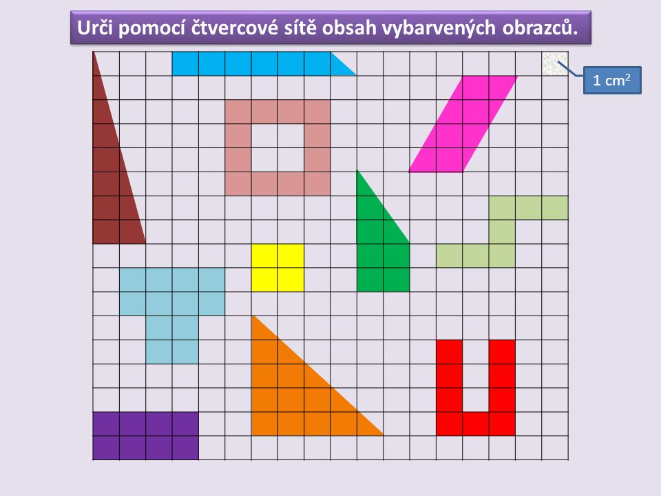 Obsah obdélníku AB CD 8 cm 4 cm a = 8 cm b = 4 cm 8  4 = 32 cm 2 S = a  b S = 8  4 S = 32 cm 2
