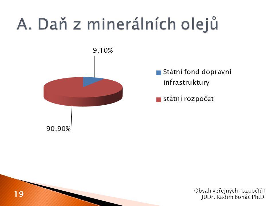 Obsah veřejných rozpočtů I JUDr. Radim Boháč Ph.D. 19