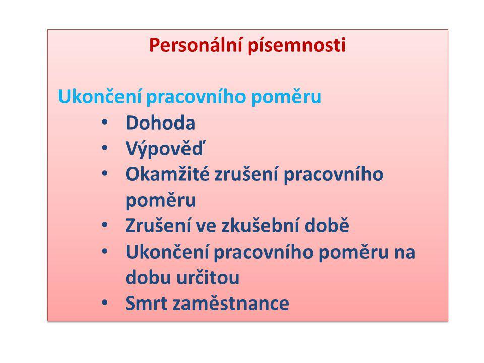 Žádost o místo Dopisy fyzických osob právnickým osobám upravuje ČSN 01 6910.