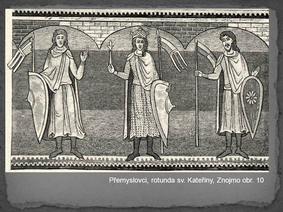 Přemyslovci, rotunda sv. Kateřiny, Znojmo obr. 10