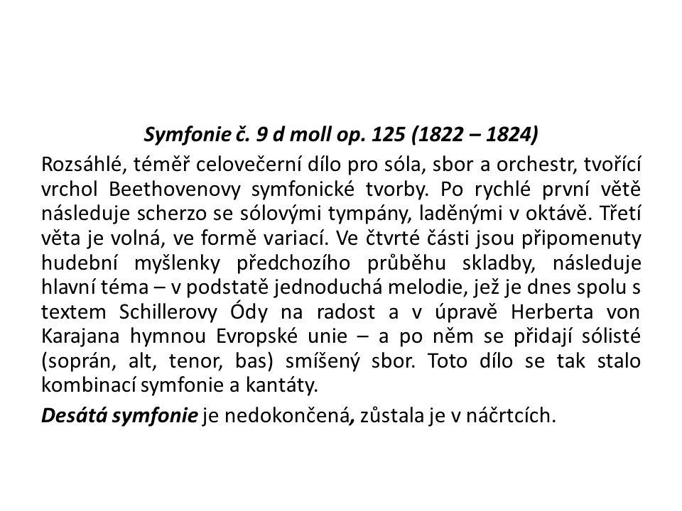 Symfonie č. 9 d moll op.