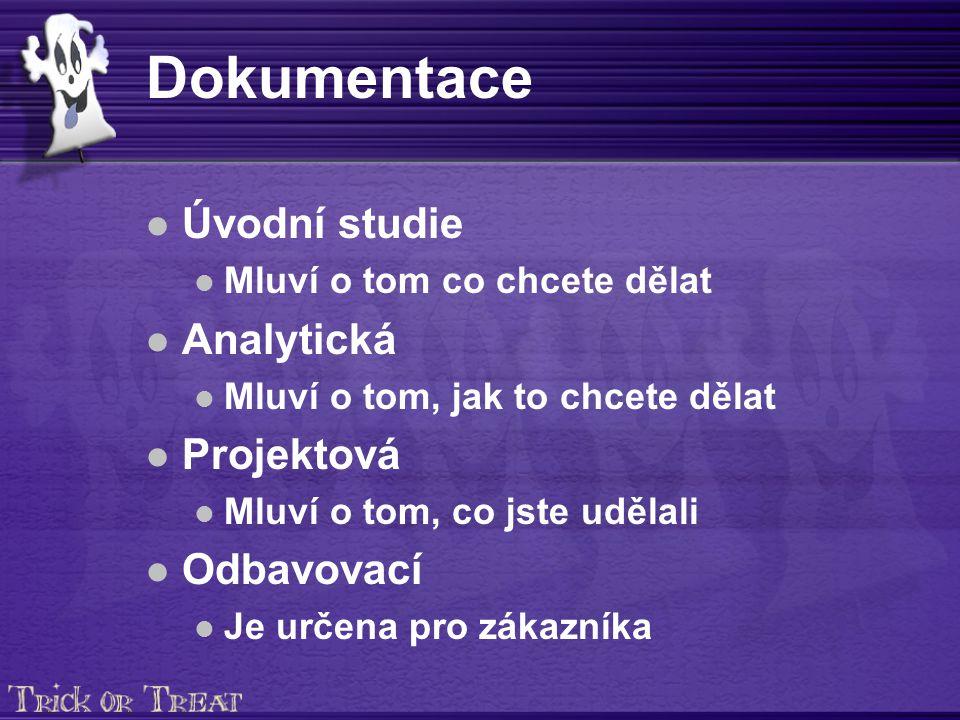 Provozní dokumentace NázevObsahFormaRozsahkontroluje Pracovník deník Záznamy o vykonaných aktivitách ProtokolJe dané projektem.
