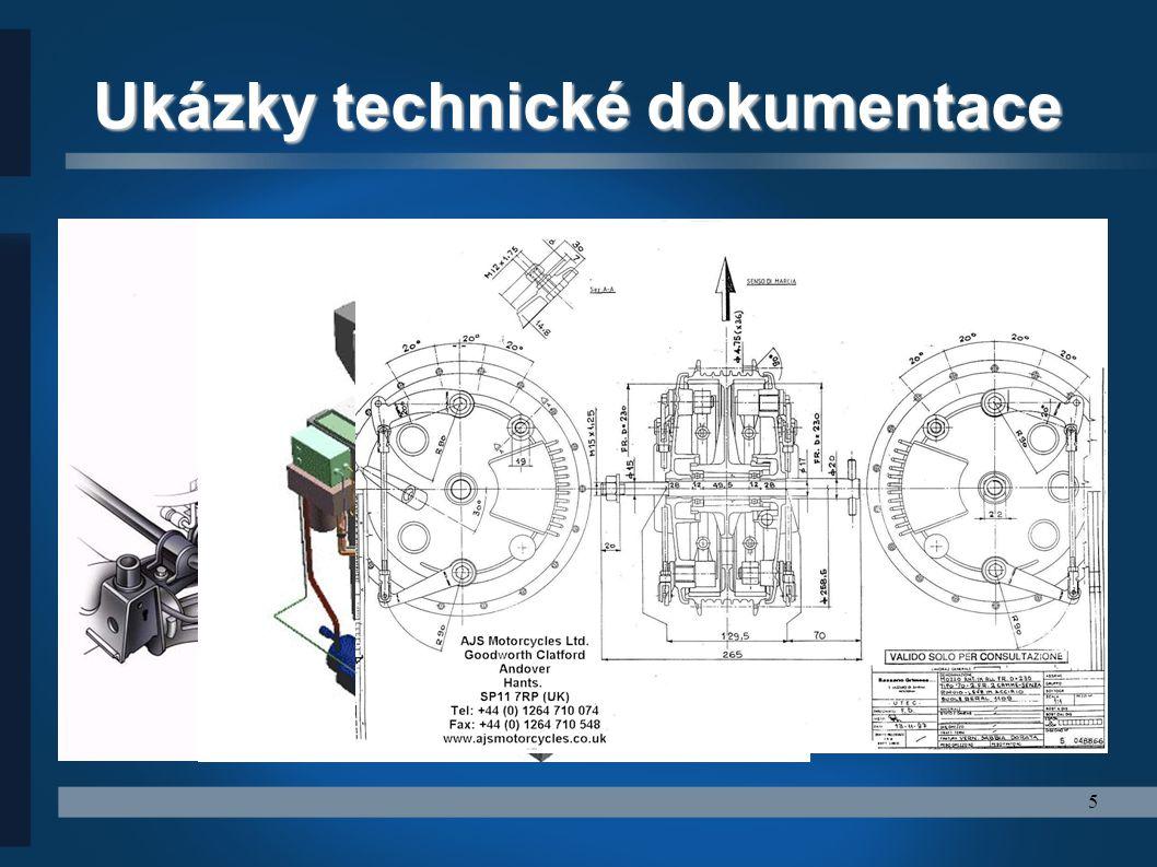5 Ukázky technické dokumentace