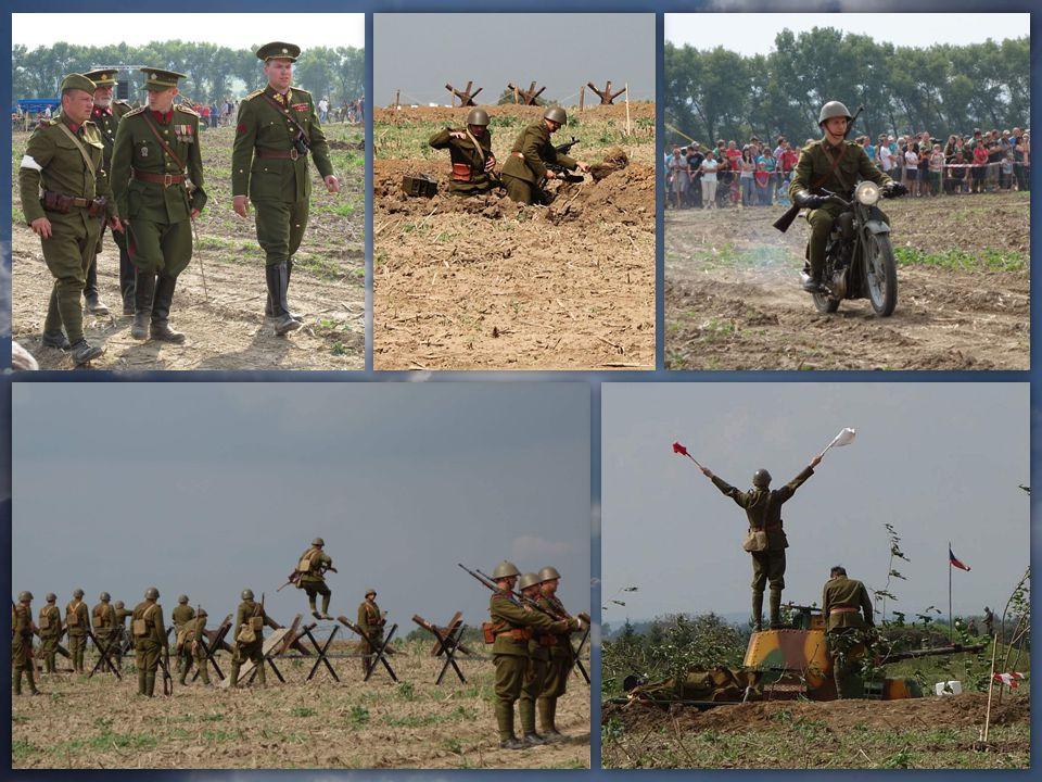 Hlavním obsahem oslav byla masivní ukázka cvičení československé branné moci v roce 1938 na linii čs.