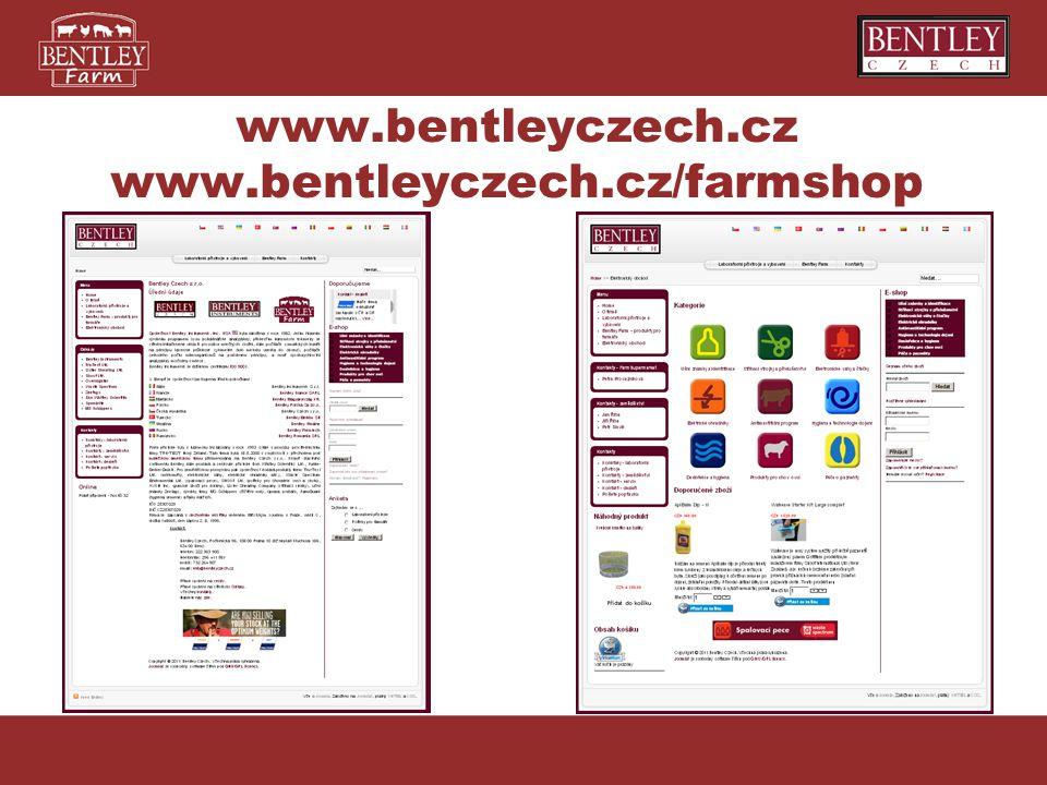 www.bentleyczech.cz www.bentleyczech.cz/farmshop