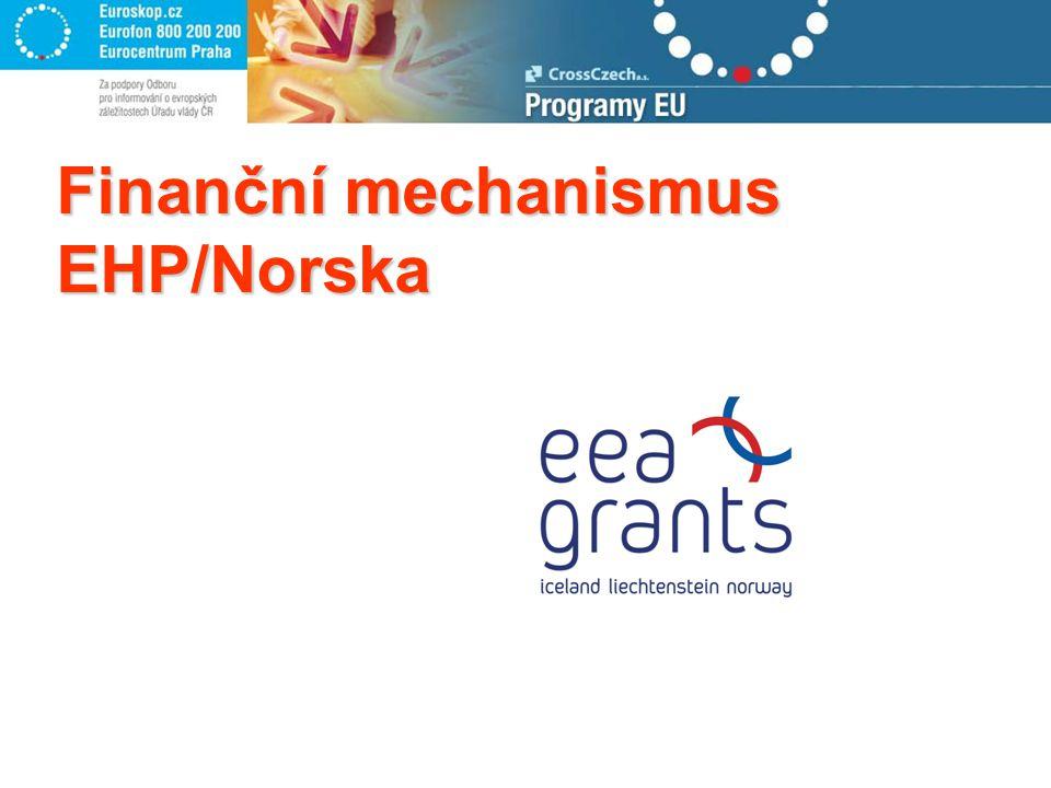 Finanční mechanismus EHP/Norska