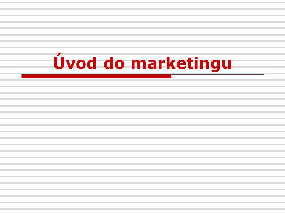 Co je to marketing .