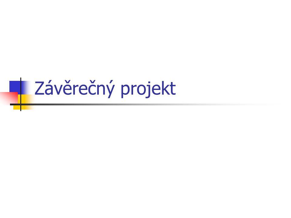 Závěrečný projekt
