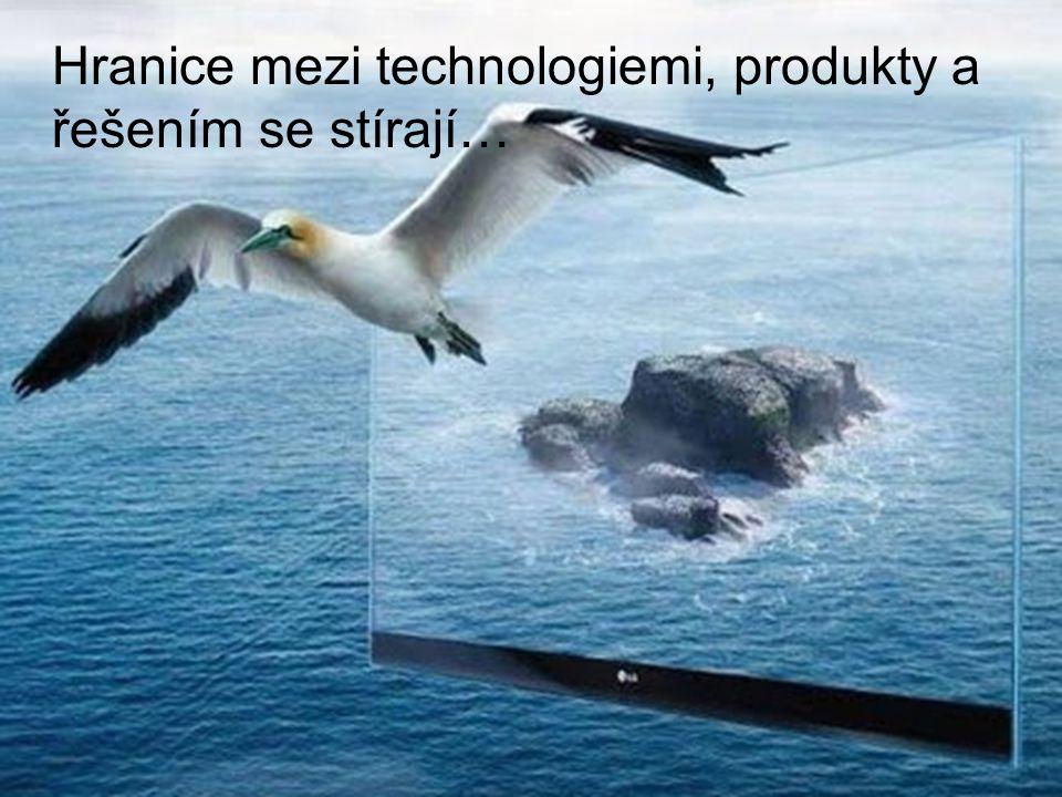 Hranice mezi technologiemi, produkty a řešením se stírají…