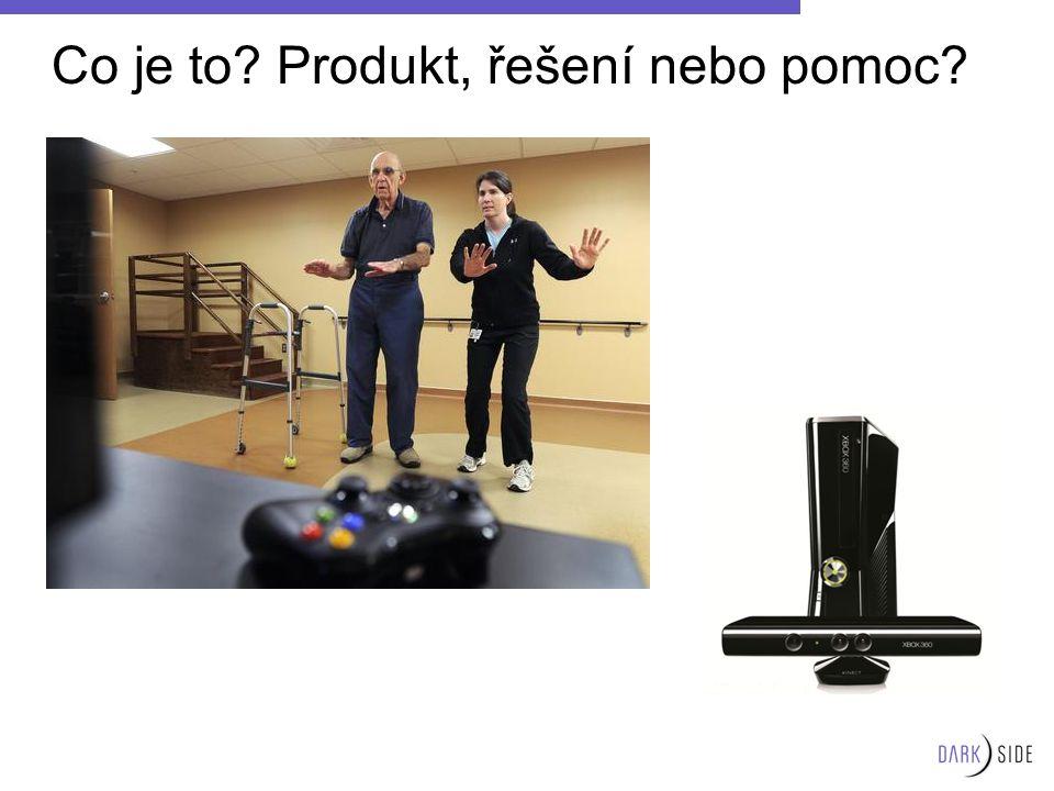 Co je to? Produkt, řešení nebo pomoc?