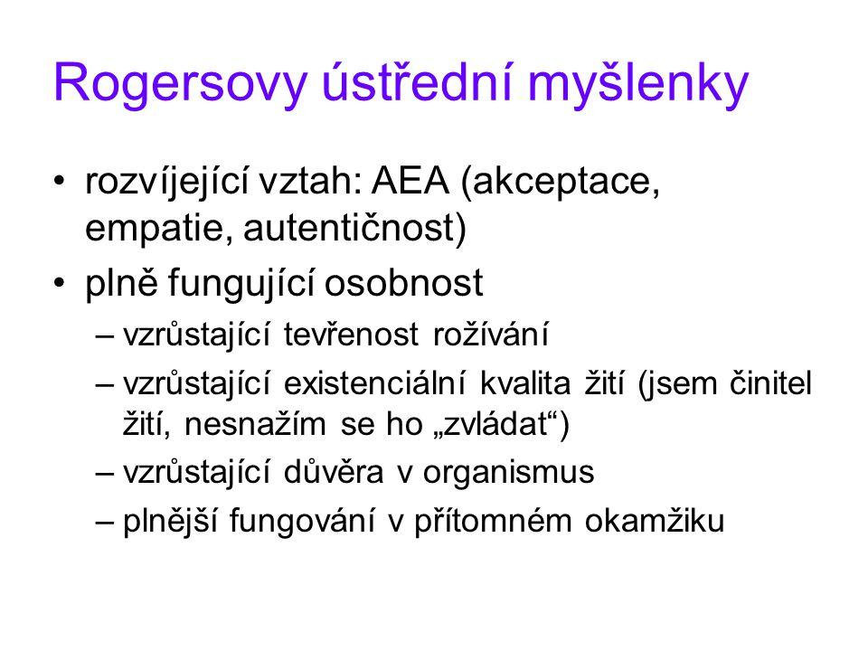 """Integrace osobnosti Já (jáství).činné """"Já –G."""