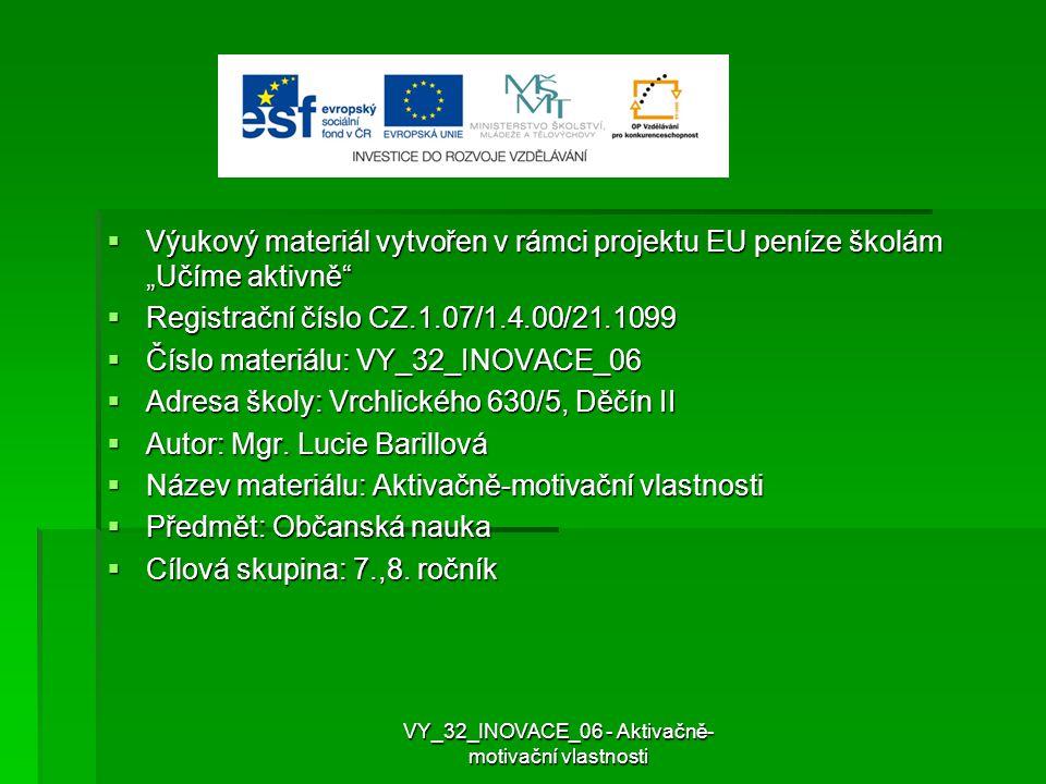 Použité zdroje   Přispěvatelé Wikipedie, Motiv [online], Wikipedie: Otevřená encyklopedie, c2012, Datum poslední revize 31.