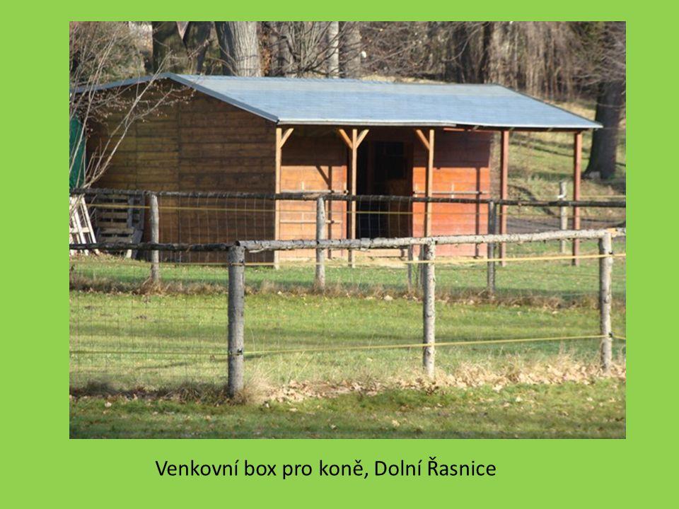 Venkovní box pro koně, Dolní Řasnice