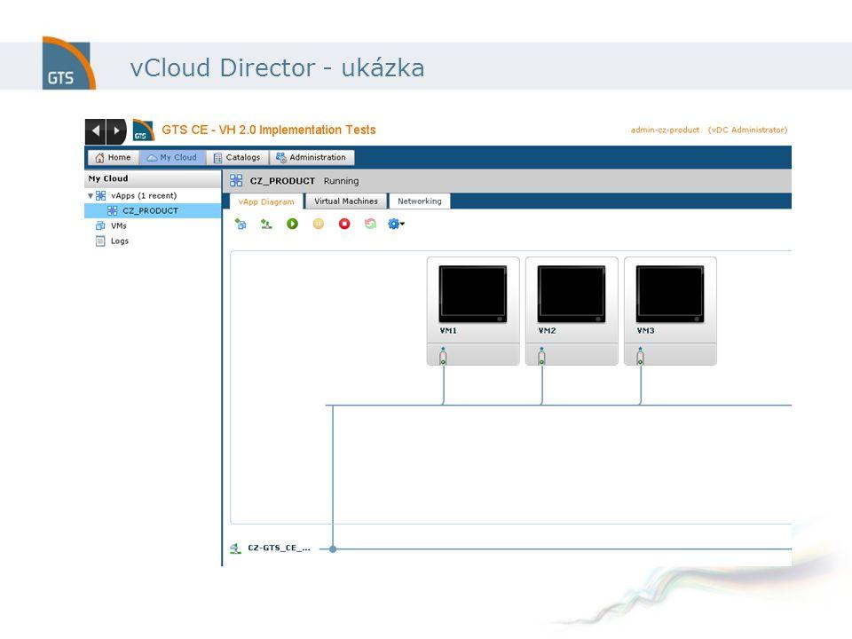 vCloud Director - ukázka