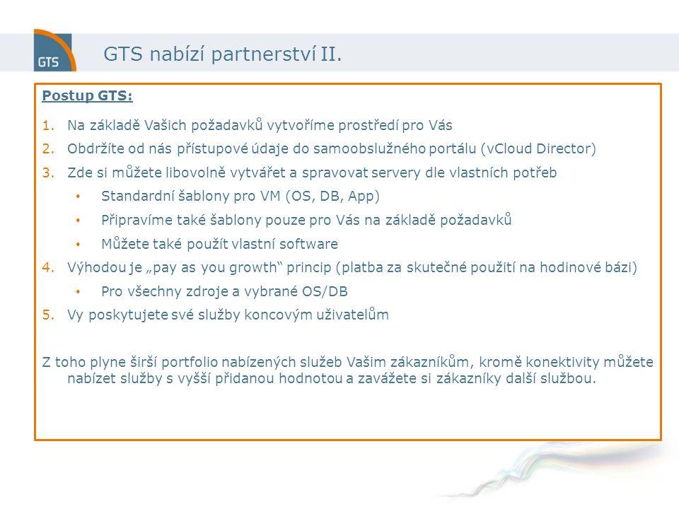 GTS nabízí partnerství II.