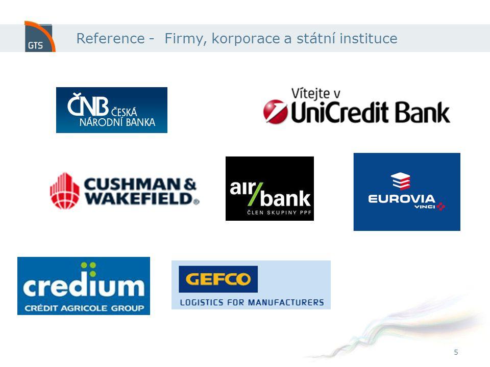 5 Reference - Firmy, korporace a státní instituce