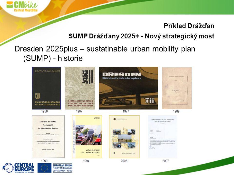 10 Dresden 2025plus – sustatinable urban mobility plan (SUMP) - historie Příklad Drážďan SUMP Drážďany 2025+ - Nový strategický most