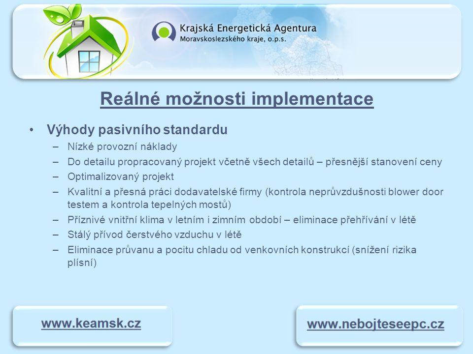 Finanční náročnost Úspory –Porovnání novostavby bytu KOTI Hyacint v pasivním standardu s novostavbou standardu eng.