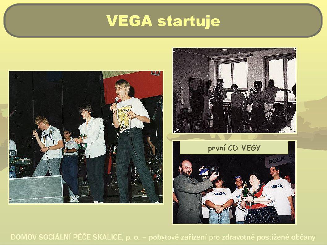 VEGA startuje první CD VEGY