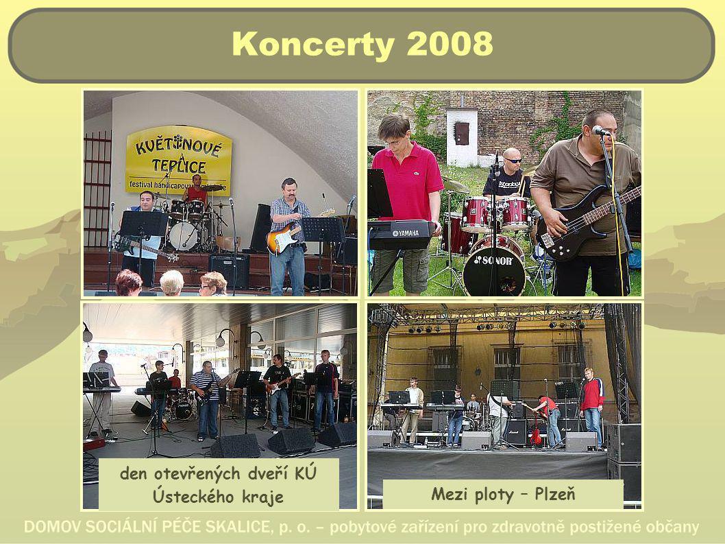 Koncerty 2008 den otevřených dveří KÚ Ústeckého kraje Mezi ploty – Plzeň