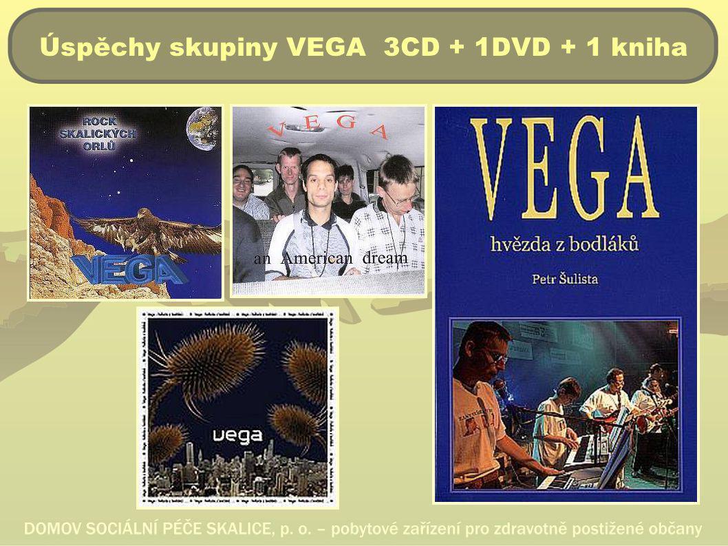 Úspěchy skupiny VEGA 3CD + 1DVD + 1 kniha