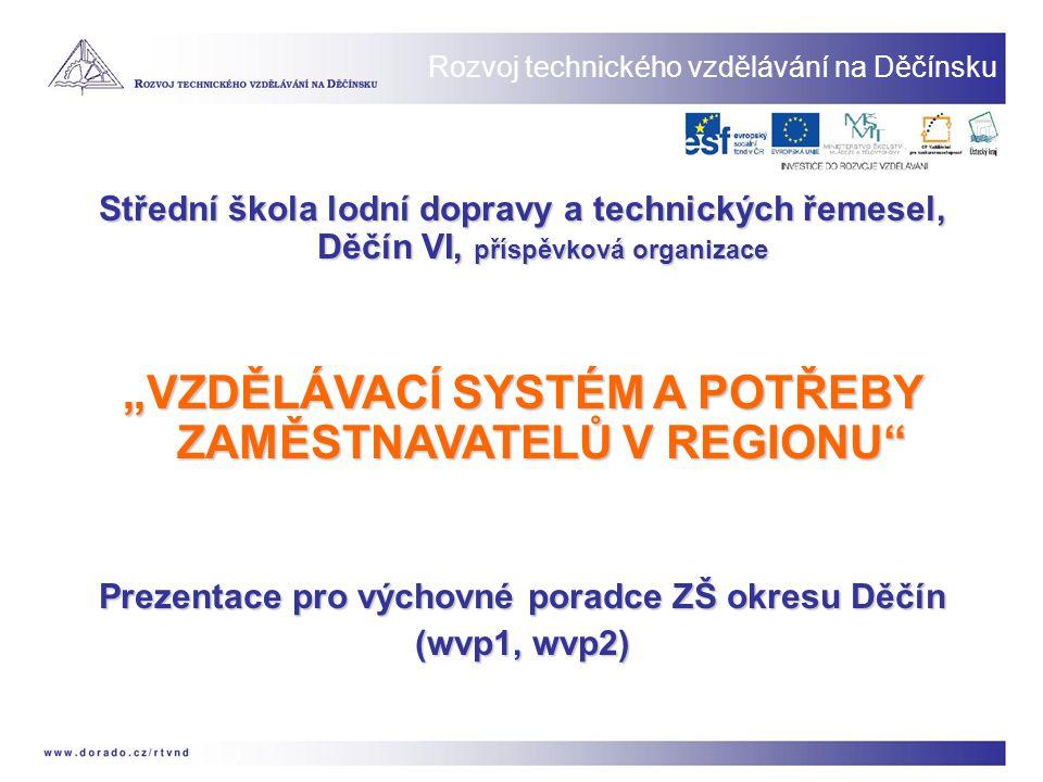 Okres Děčín -největší a nejlidnatější okres Ústeckého kraje, -nejdelší hranice se SRN v rámci Ústeckého kraje, -okres s průmyslovou tradicí a převažující městskou populací, -nízká úroveň mezd, -severní část okresu s velmi komplikovanou dopravní obslužností, -populace s malým podílem vysokoškoláků, -převažuje území s režimem ochrany přírody NP + 3 x CHKO.