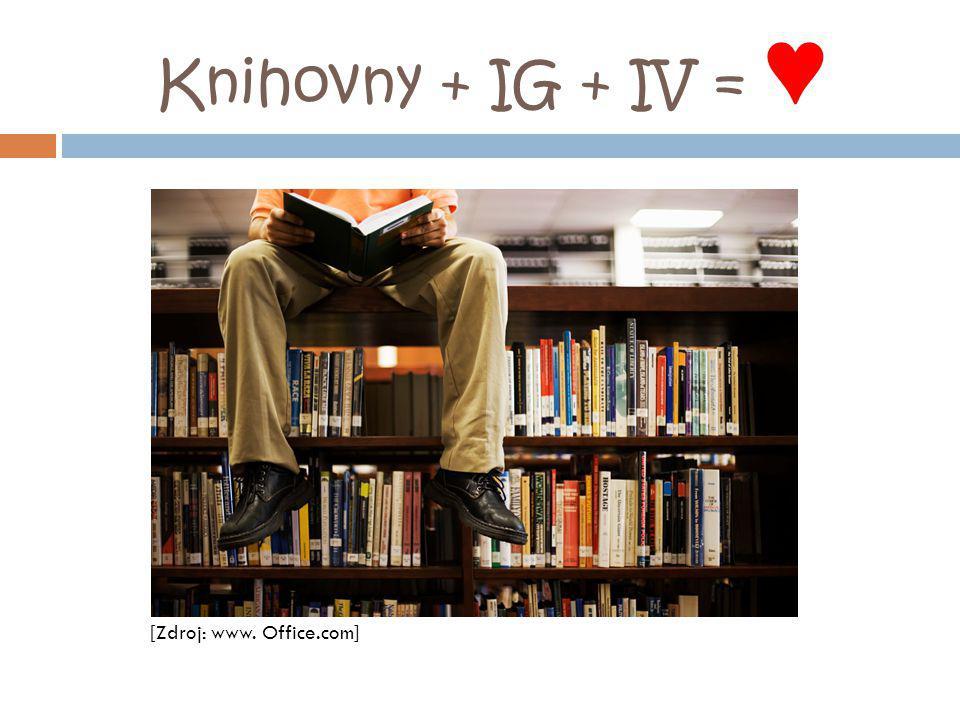 Knihovny + IG + IV = ♥ [Zdroj: www. Office.com]