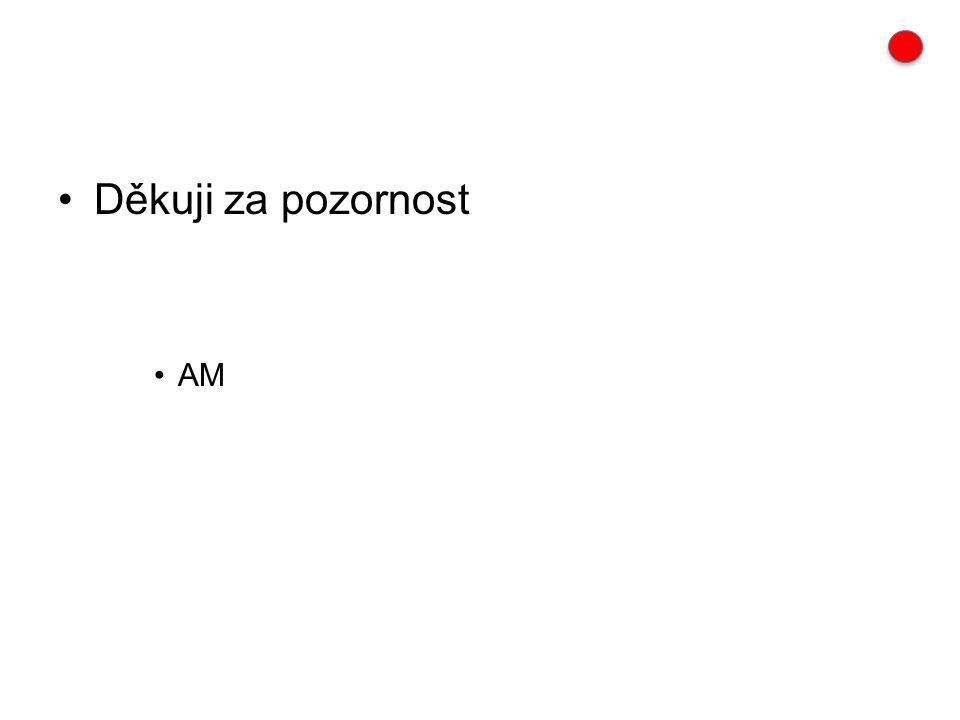 Děkuji za pozornost AM