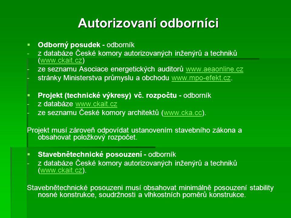 Autorizovaní odborníci   Odborný posudek - odborník - -z databáze České komory autorizovaných inženýrů a techniků (www.ckait.cz)www.ckait.cz - -ze s