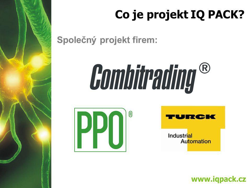 Co je projekt IQ PACK Společný projekt firem: