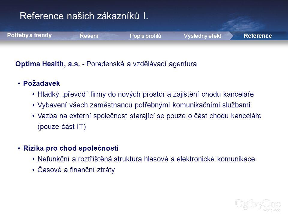 13 Reference našich zákazníků I.