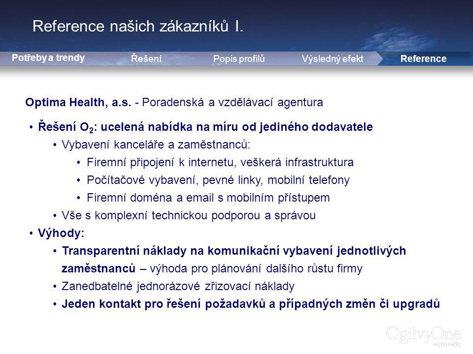 14 Reference našich zákazníků I.