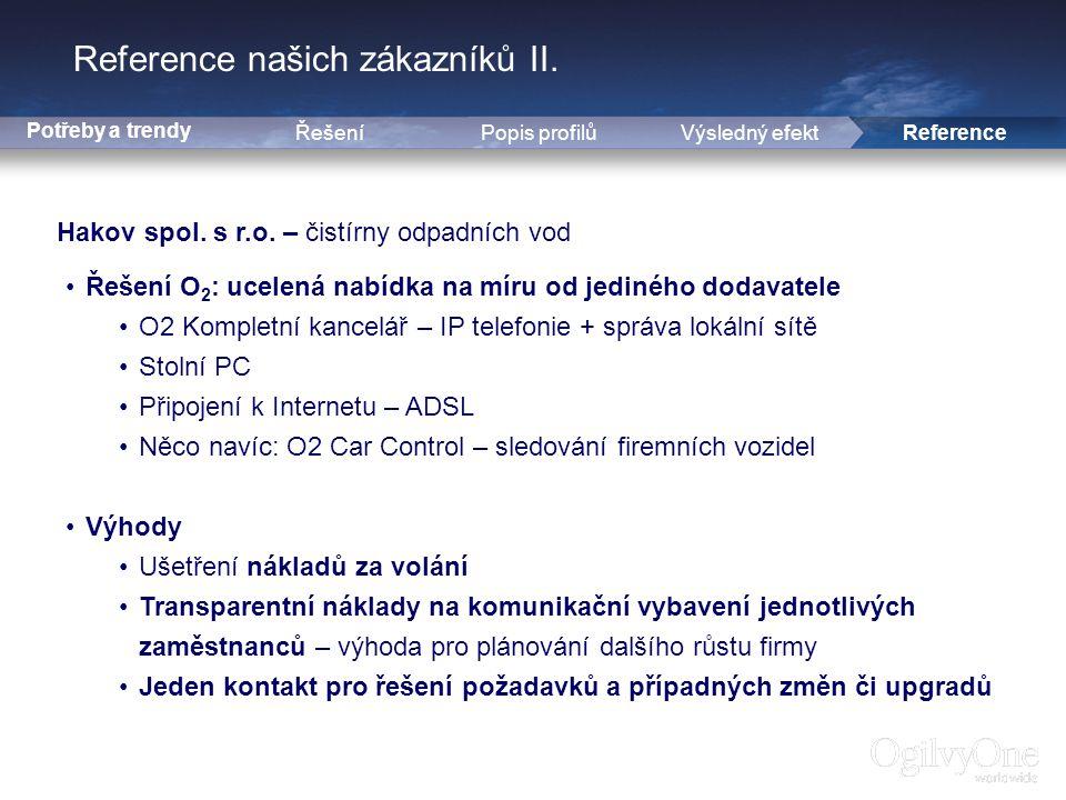 16 Reference našich zákazníků II.