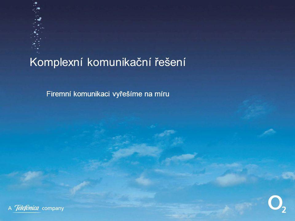Komplexní komunikační řešení Firemní komunikaci vyřešíme na míru