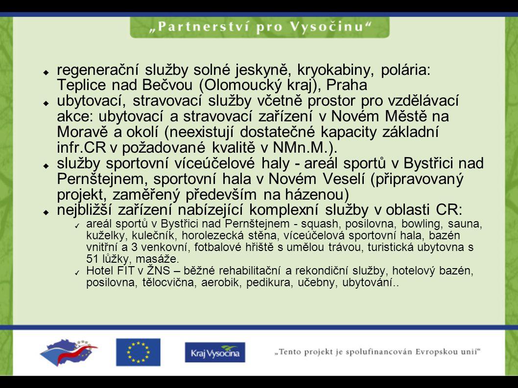  regenerační služby solné jeskyně, kryokabiny, polária: Teplice nad Bečvou (Olomoucký kraj), Praha  ubytovací, stravovací služby včetně prostor pro