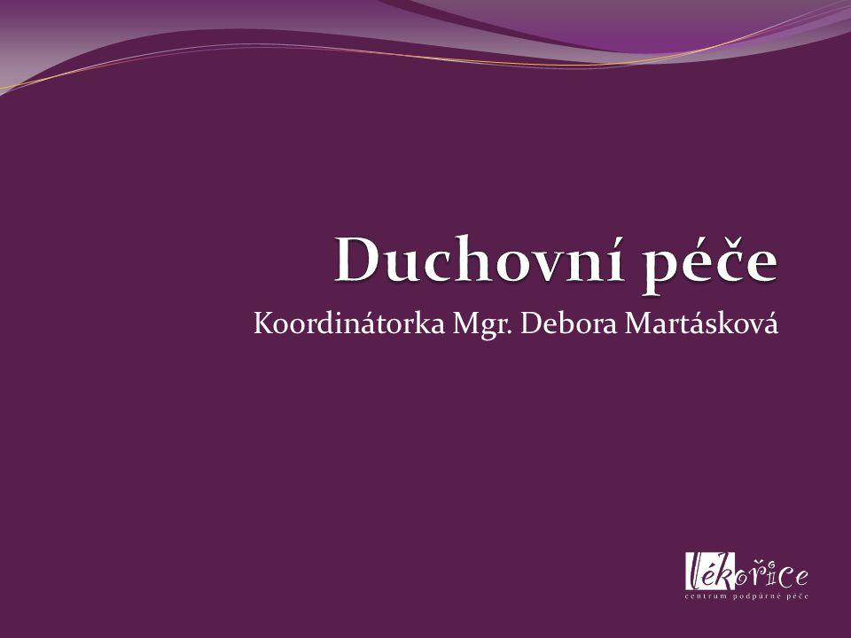 Koordinátorka Mgr. Debora Martásková