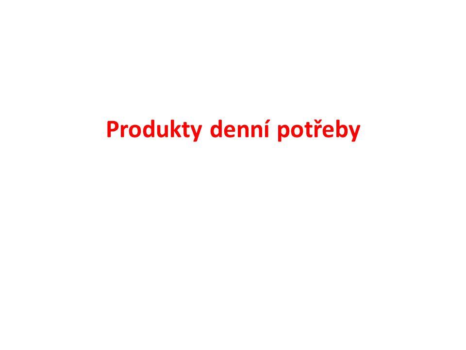 Produkty denní potřeby