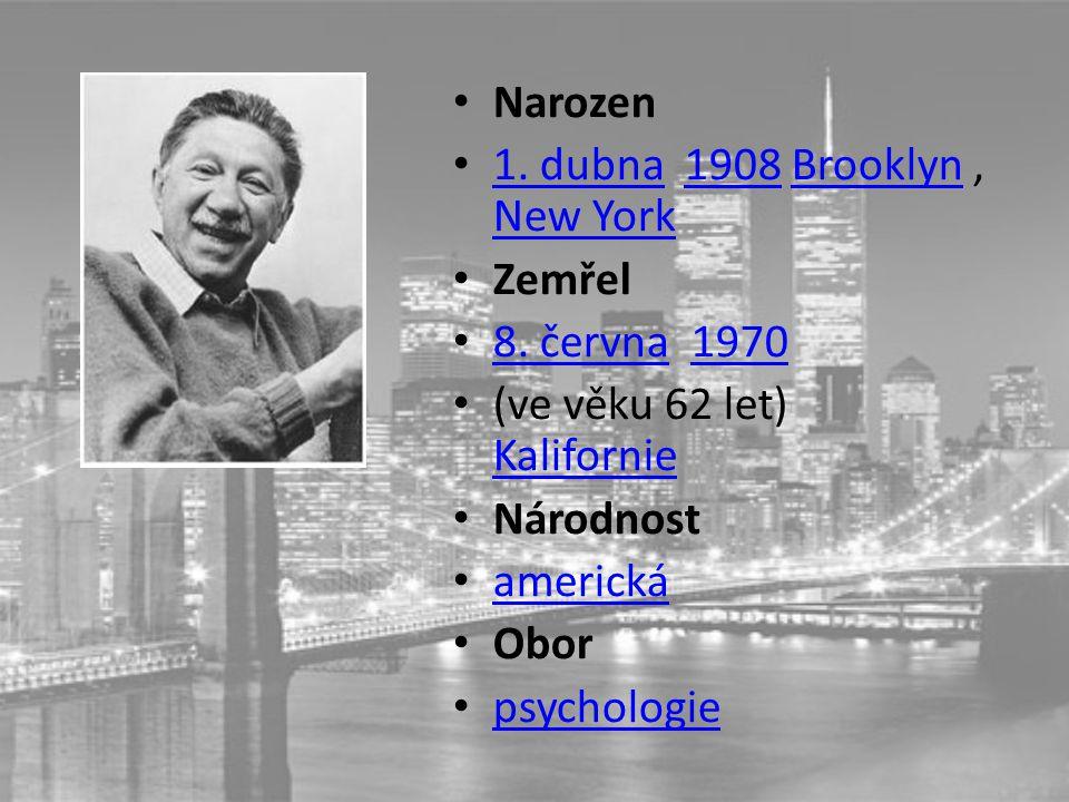 Narozen 1. dubna 1908 Brooklyn, New York 1. dubna1908Brooklyn New York Zemřel 8.