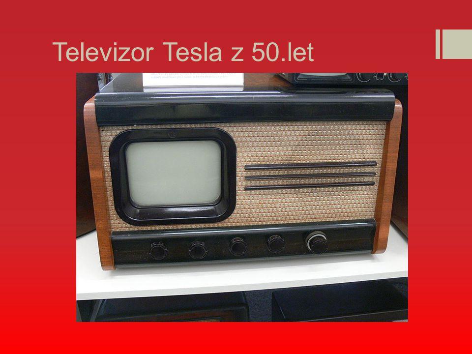 Televizor Tesla z 50.let