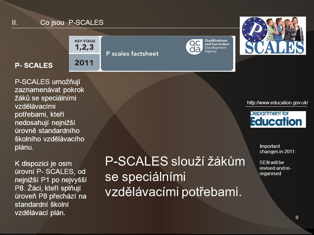 10 II.Co jsou P-SCALES.